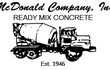 McDonald Concrete, Inc.
