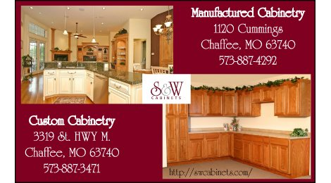 S & W Cabinets: Residential Division - Custom & Manufactured Cabinets