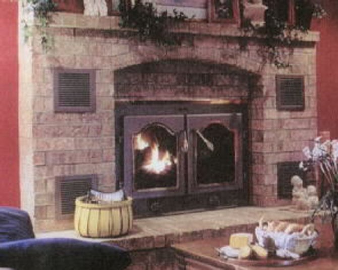carbon monoxide poisoning from a fireplace